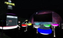 L00K! UFO Drive-In Movies