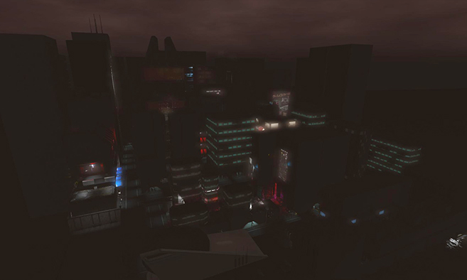 New London / Renegade City Cyberpunk