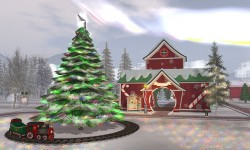 Oasis Zoo Christmas Village
