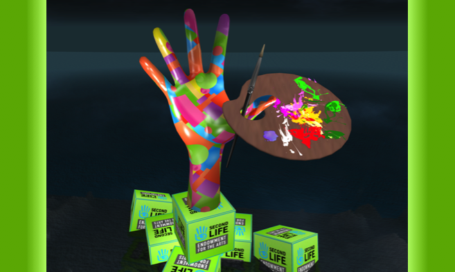 Second Life Endowment For The Arts