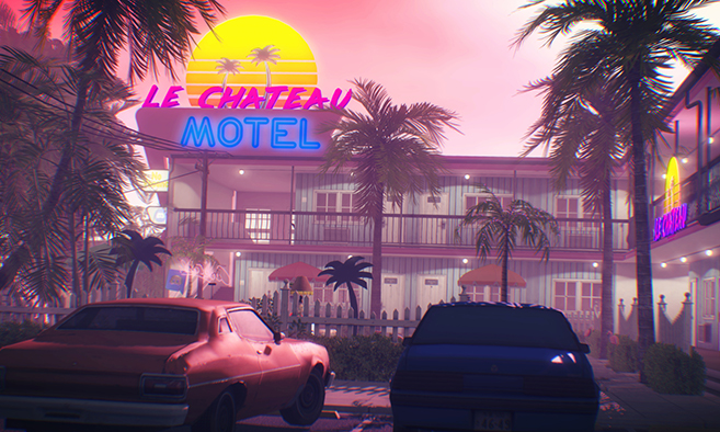 Le Chateau Motel - Back to the 80s