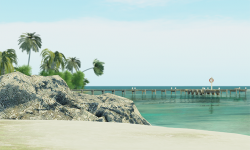 Krak Bak Caye at The Sim Quarterly