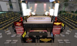 SL Wrestling Exhibit at SL18B