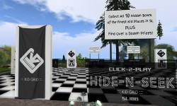 Play HiDE-N-SEEK with KiD GRiD at SL18B