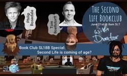 Second Life Book Club - Special at SL18B!