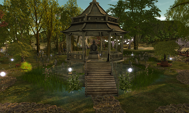 Tranquil Zen Meditation Gardens