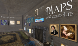 Maps of Second Life