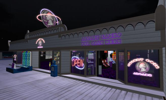 Insert Coin Arcade | Second Life