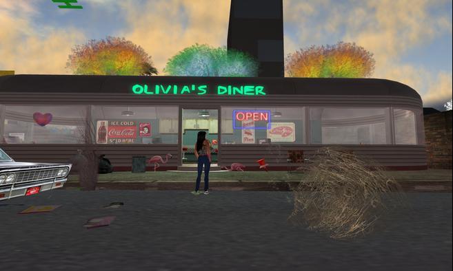Olivia's Creepy Diner